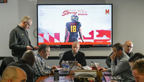 XLYQ7BHFSEI6PET244XKYHTTWY - Maryland places athletic staffers on leave in wake of football player's death