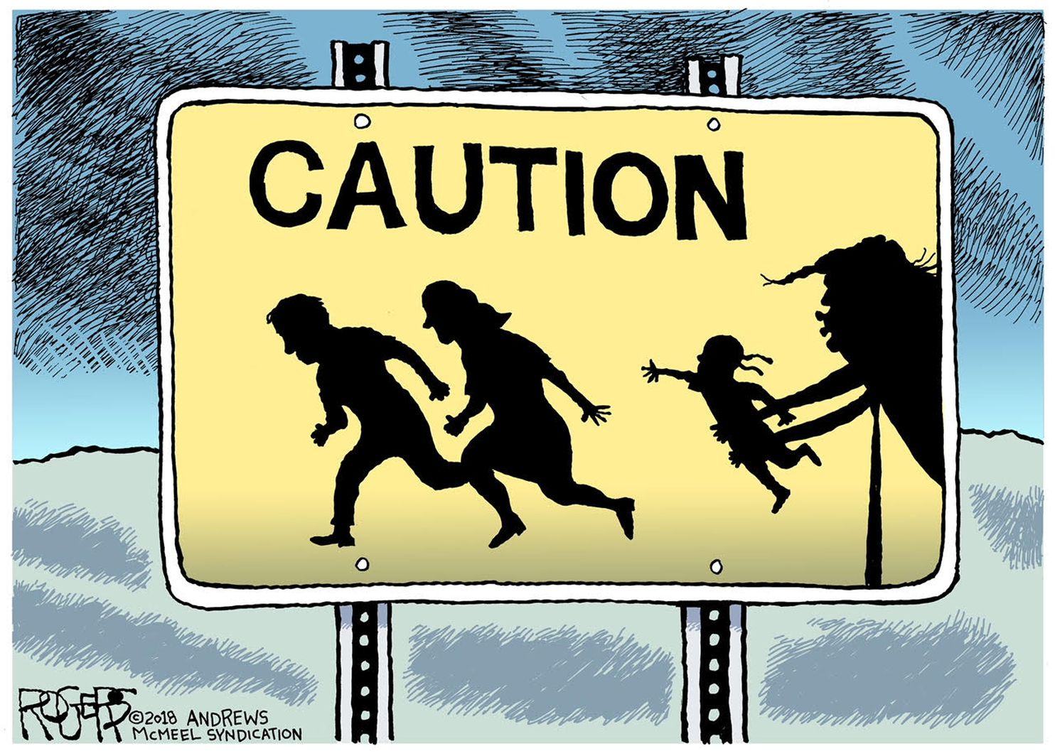 Pittsburgh Post Gazette Political Cartoonist Rob Rogers Is