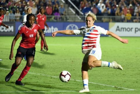 ZZXYHIWM6MI6RLIKBYA67OR4YE - U.S. women's soccer got a breakout star once Lindsey Horan was challenged to go on attack