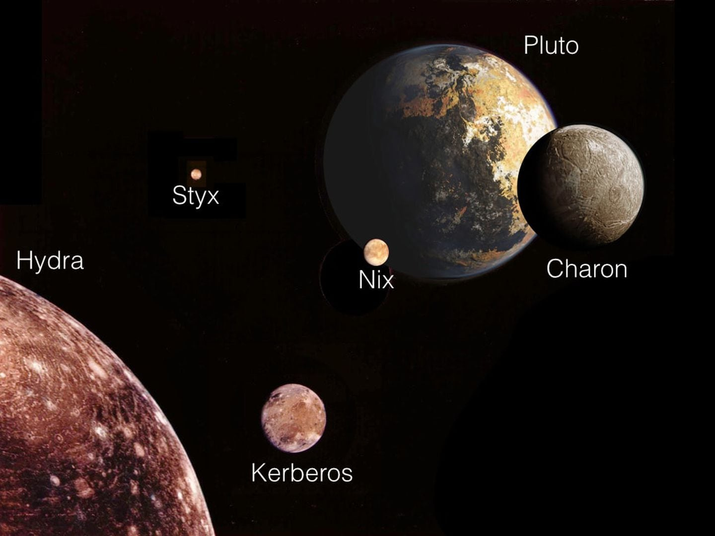 New Images Of Pluto S Moons Hint At Unusual Behavior