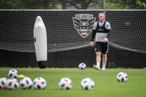 RQEJYRUBIUI6RM5VWYMJN6IJDE - Wayne Rooney brings D.C. United unquestioned celebrity and uncertain hope ahead of MLS debut