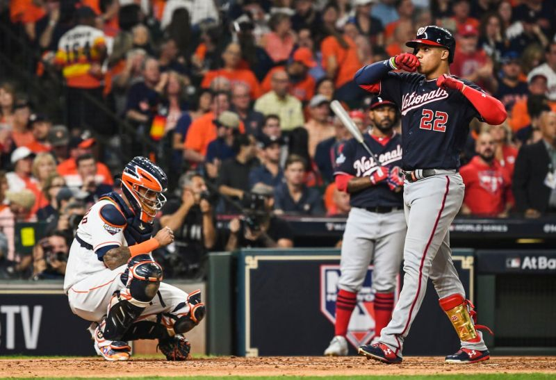 World Series Game 1 live updates: Juan Soto ties it up in fourth