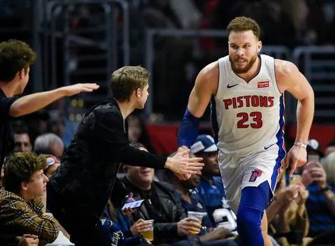 XVZKNUAWYAI6TK3ZGDGU66JG6I - Blake Griffin gets revenge against the Clippers, but swears he didn't snub Steve Ballmer