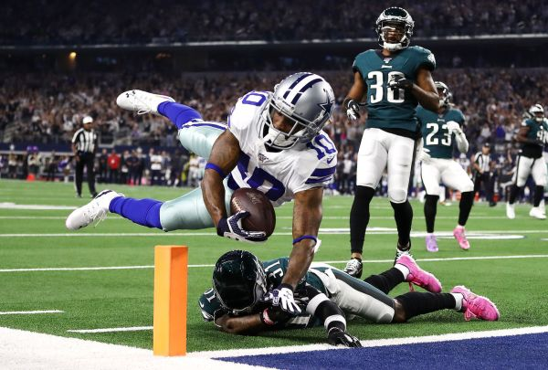Cowboys vs. Eagles: Dallas has its offense moving and leads Philadelphia