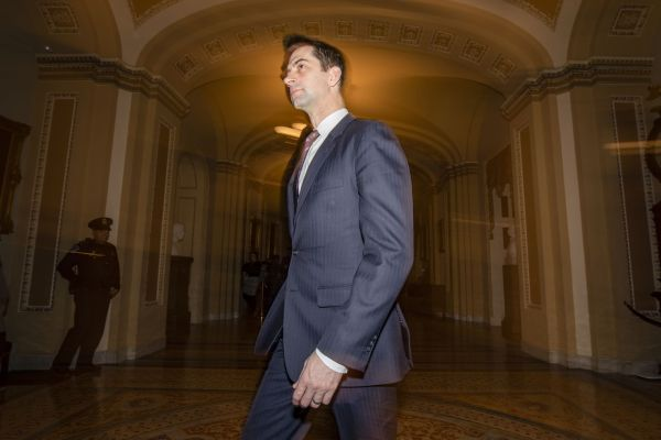 Tom Cotton keeps repeating a coronavirus conspiracy theory that was already debunked