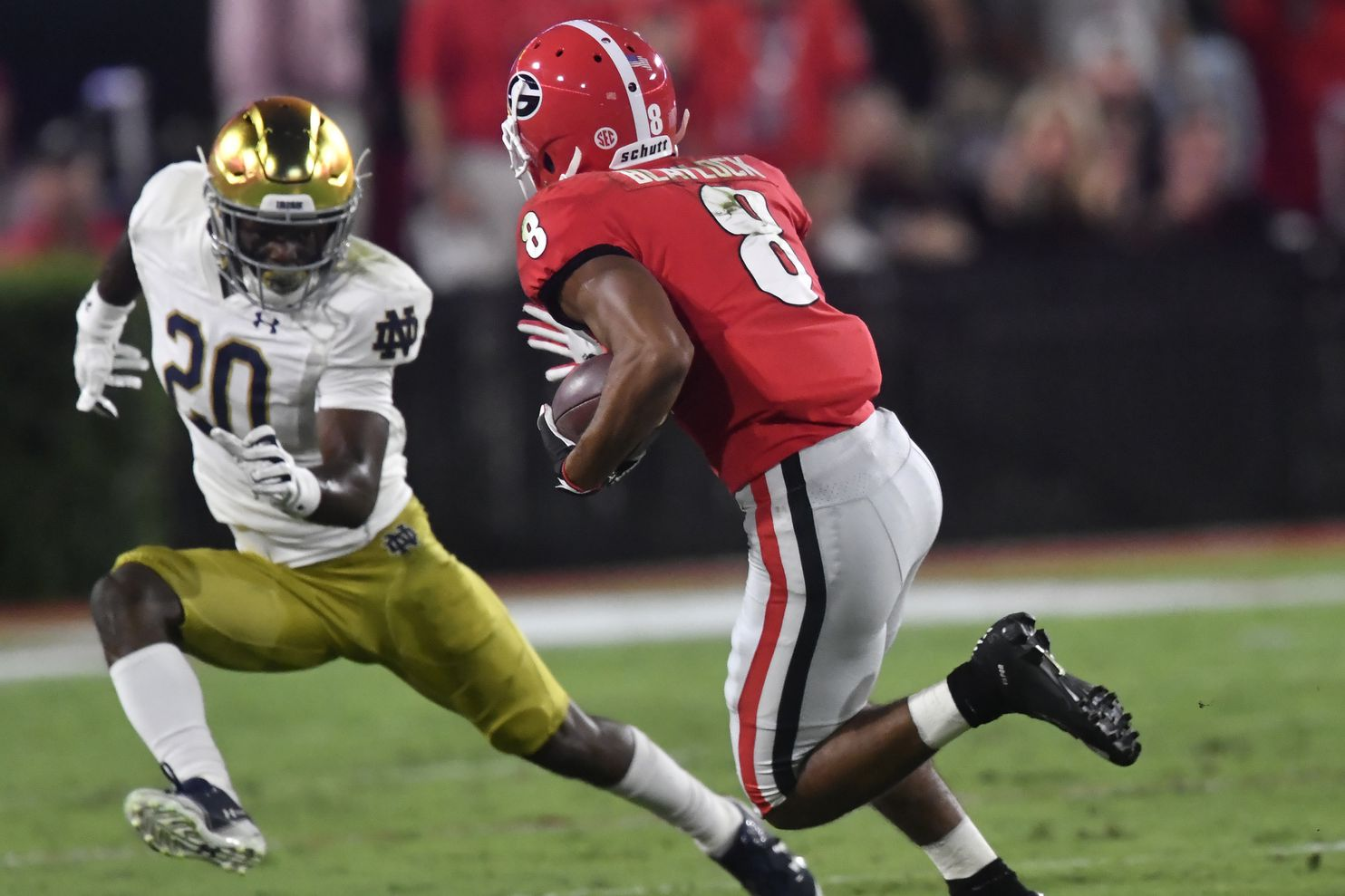 Georgia vs. Notre Dame live updates: After a Fighting Irish turnover, Bulldogs tie it