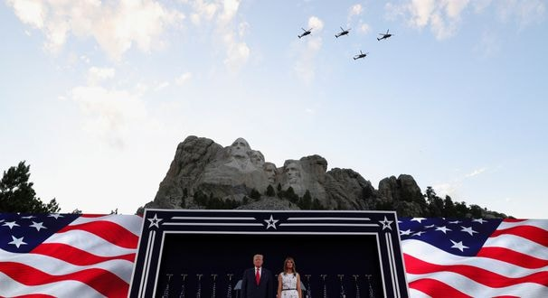 At Mount Rushmore, Trump exploits social divisions, warns of 'left-wing cultural revolution' in dark speech ahead of Independence Day