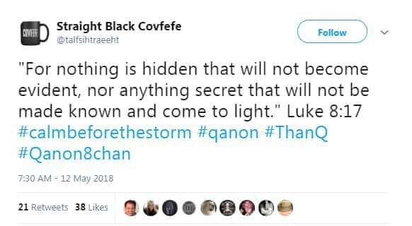 QAnon: How the conspiracy theory spawned by a Trump quip got so ...