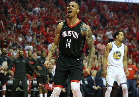 ZTE6VU53LE2C3B67FQZSHMDEKE - NBA playoffs: The Rockets look like a team that can beat the Warriors in a series
