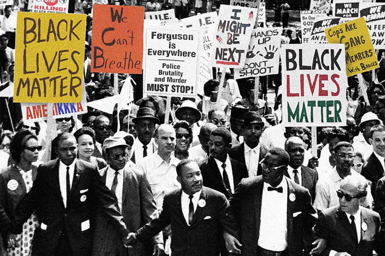 Don T Criticize Black Lives Matter For Provoking Violence