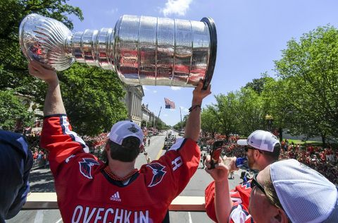 A5KISWAT2E5RXJDL4DS4WKMQGI - With Stanley Cup in tow, Ovechkin begins life-changing offseason