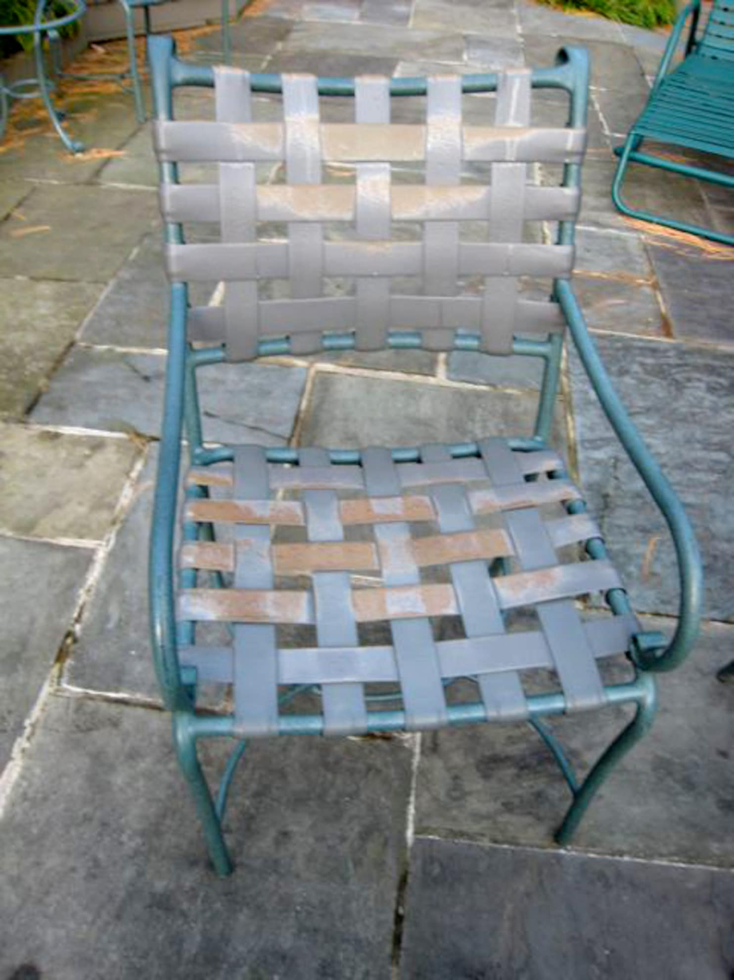 how to get patio chairs restrapped