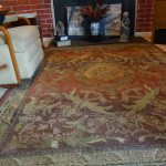 How To Keep An Area Rug From Creeping On A Carpeted Floor