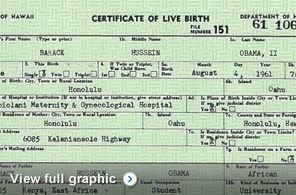 Document: The president released a longer form of his birth certificate Wednesday.