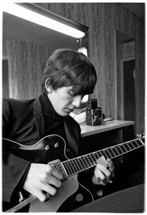 """George Harrison in """"George Harrison: Living in the Material World."""" (Dezo Hoffman)"""