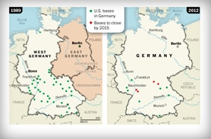 Cutting back on U.S. bases in Germany