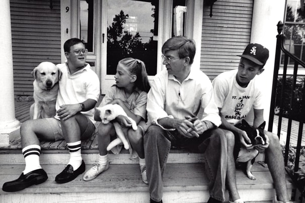George Will and family