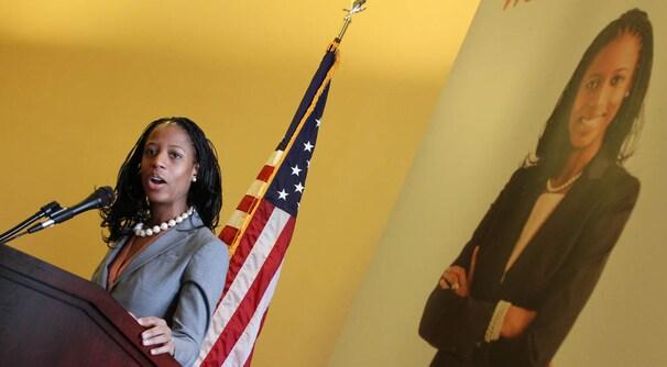 미국 최초의 흑인 여성 공화당 국회의원에 도전하는 미아 러브