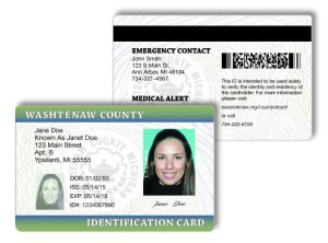 An image of a sample ID