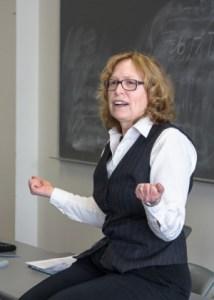 Maxine Gibson teaching