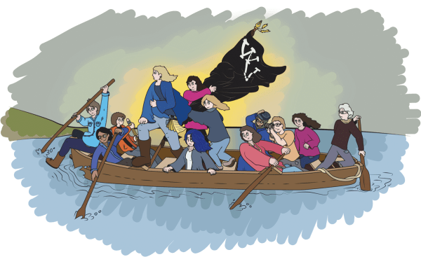 The Washtenaw Voice in boat spoofing Washington Crossing The Delaware painting