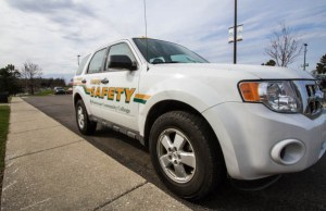 WCC's campus safety vehicle