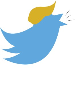 twitter icon wearing a cap
