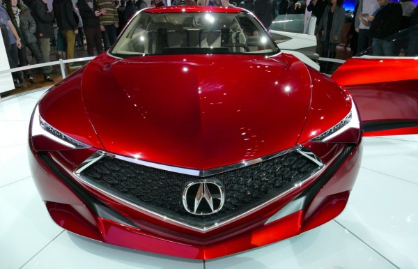 An Acura precision concept car