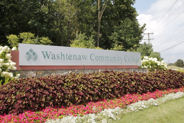 WCC entrance sign