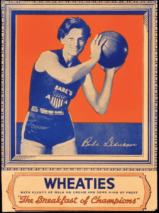 Wheaties Babe