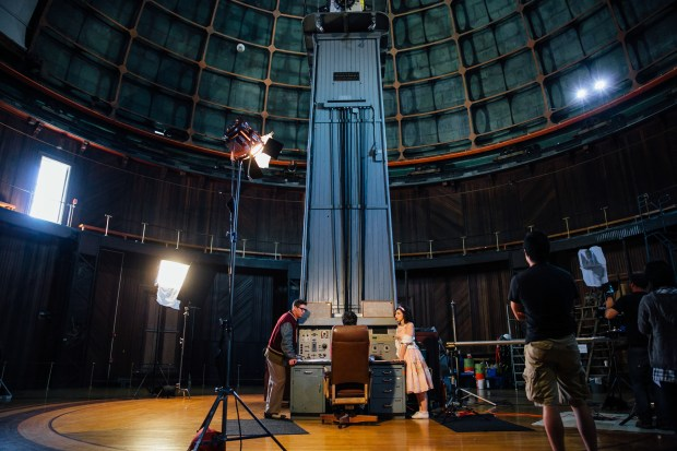 36-inch Great Lick Refractor Dome