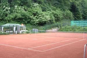 Tennisplatz der Wasserfreunde Wuppertal