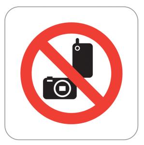 Symbol Fotografieverbot