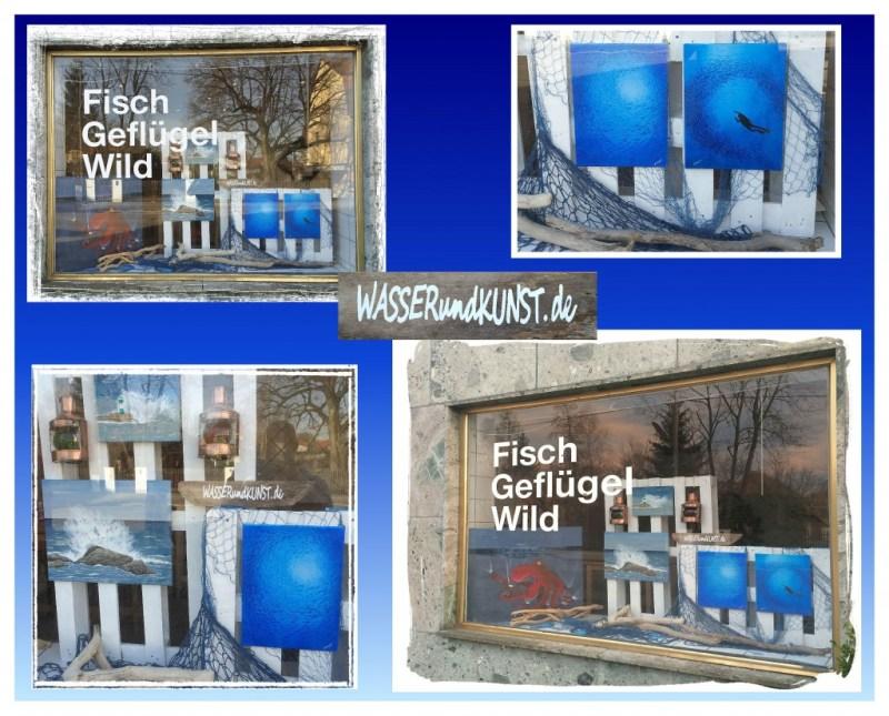 maritime Schaufenster Dekoration