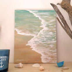 Beach Acrylbild