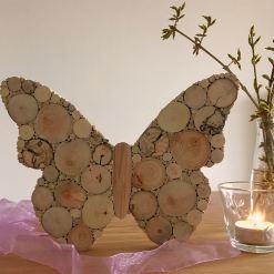 Schmetterling Holz Frühlingsdeko