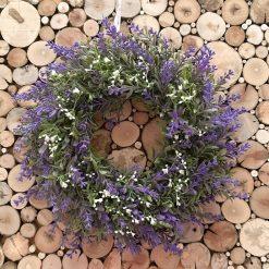Blütenkranz Lavendel Schleierkraut