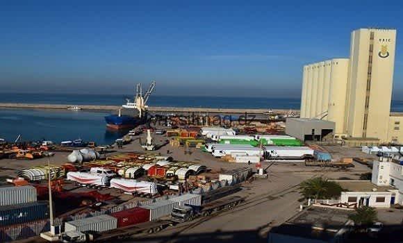 ميناء مستغانم : تضاعف حجم الصادرات بـ 7 مرات خلال الثلاثي الأول من 2021