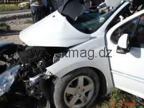 غليزان : مصرع شاب في عين المكان واصابة ثلاثة آخرين بجروح متفاوتة الخطور بسبب حادث مرور