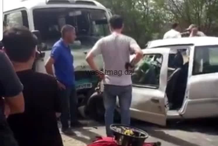 وفاة شخصين و اصابة 17 شخص اخر في حادث مرور ببجاية