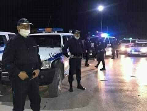 أمن ولاية المسيلة يقوم بتوقيف 98 شخص لم يلتزموا بالإجراءات القانونية وتحرير 82 مخالفة