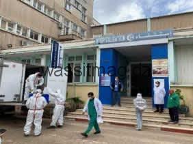 مكافحة كورونا: انطلاق قافلة مساعدات لفائدة مستشفيات العاصمة والبليدة