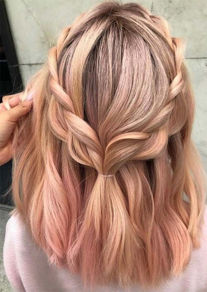 Spring hair colors for women with blonde