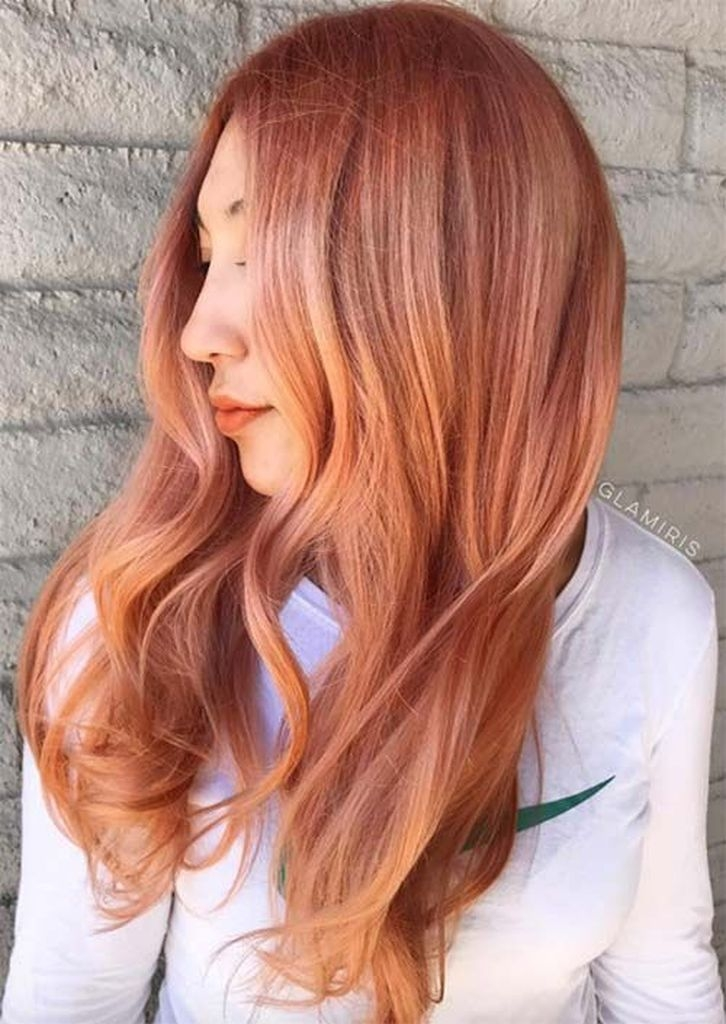 Spring hair for women with redheads