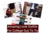 Amazing look for college guy