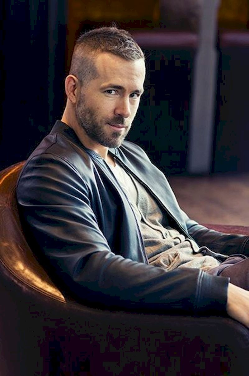 Hairstyles for bald men with short top pieces and thin beards