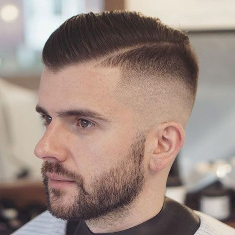 Hairstyles for balding men with short comb over hairstyles