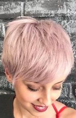 45 Rose Gold Hair Color Ideas for Short Haircuts in 2019