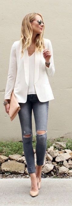30 Stunning Casual Work Outfit For Summer and Spring (8)