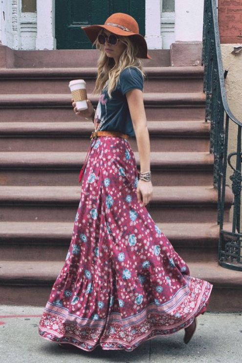 35 Adorable Bohemian Fashion Styles For Spring Summer (22)
